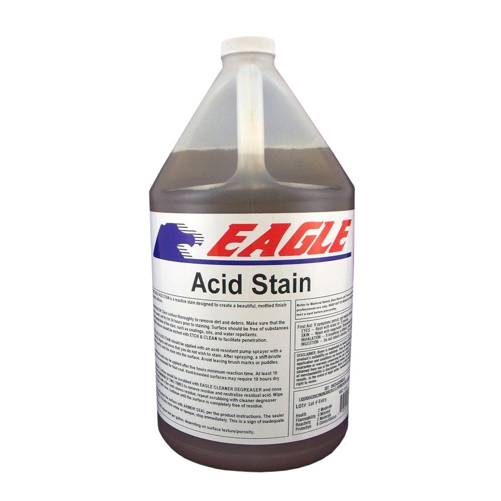 Eagle Sealer EDADA Amber Acid Stain, 1 gal Jug,(Not Sold in HI, PR, AK, GU, VI)