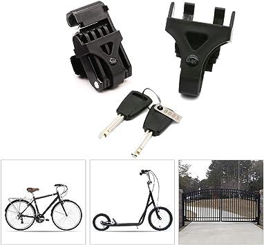 Candados Plegables Candado Bici,Mini Portátil Candado Bicicleta ...