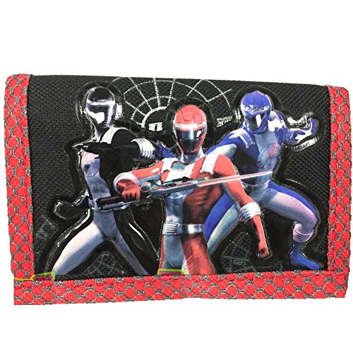 Power Rangers Operation Overdrive Wallet (Red Trim) - Boys Wallet