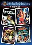 Midnite Movies: 4 Movies (Morons from Outer Space / Alien from L.A. / The Man from Planet X / The Angry Red Planet) by MGM (Video & DVD)