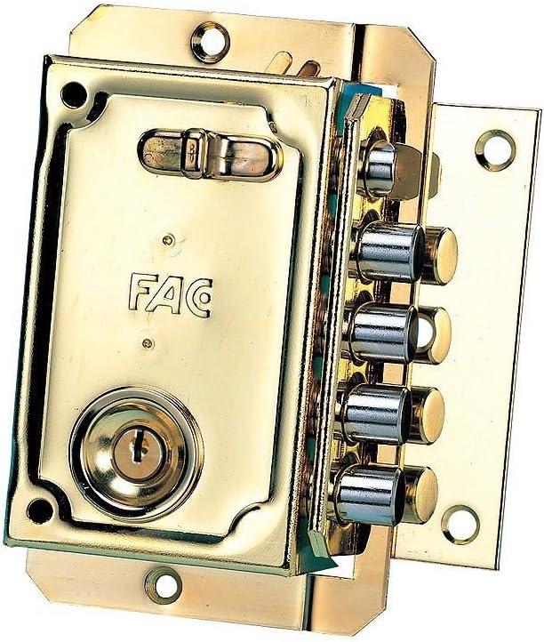 FAC 3013005 Cerradura S-90 Pintada Izquierda