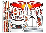 Traxxas T-Maxx 2.5 Jaws Decal Sheet - 4913X