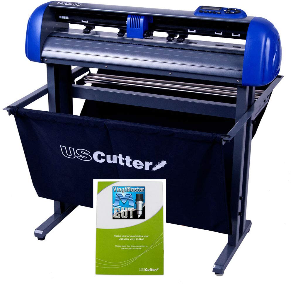 28-inch USCutter Titan 2 Vinyl Cutter/Plotter with Stand, Basket and Design and Cut Software by USCutter