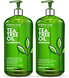Sweepstakes: MAJESTIC PURE Tea Tree Shampoo and Conditioner...