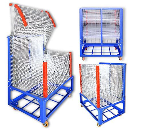 TechTongda 36 Layers Screen Drying Rack Silk Screen Printing Equipment by Screen Printing Equipment