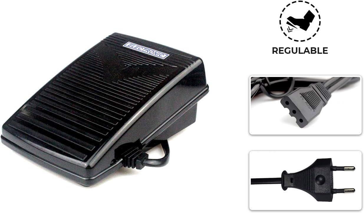 La Canilla ® - Motor Máquina de Coser 150W NEGRO 8.000RPM para ...