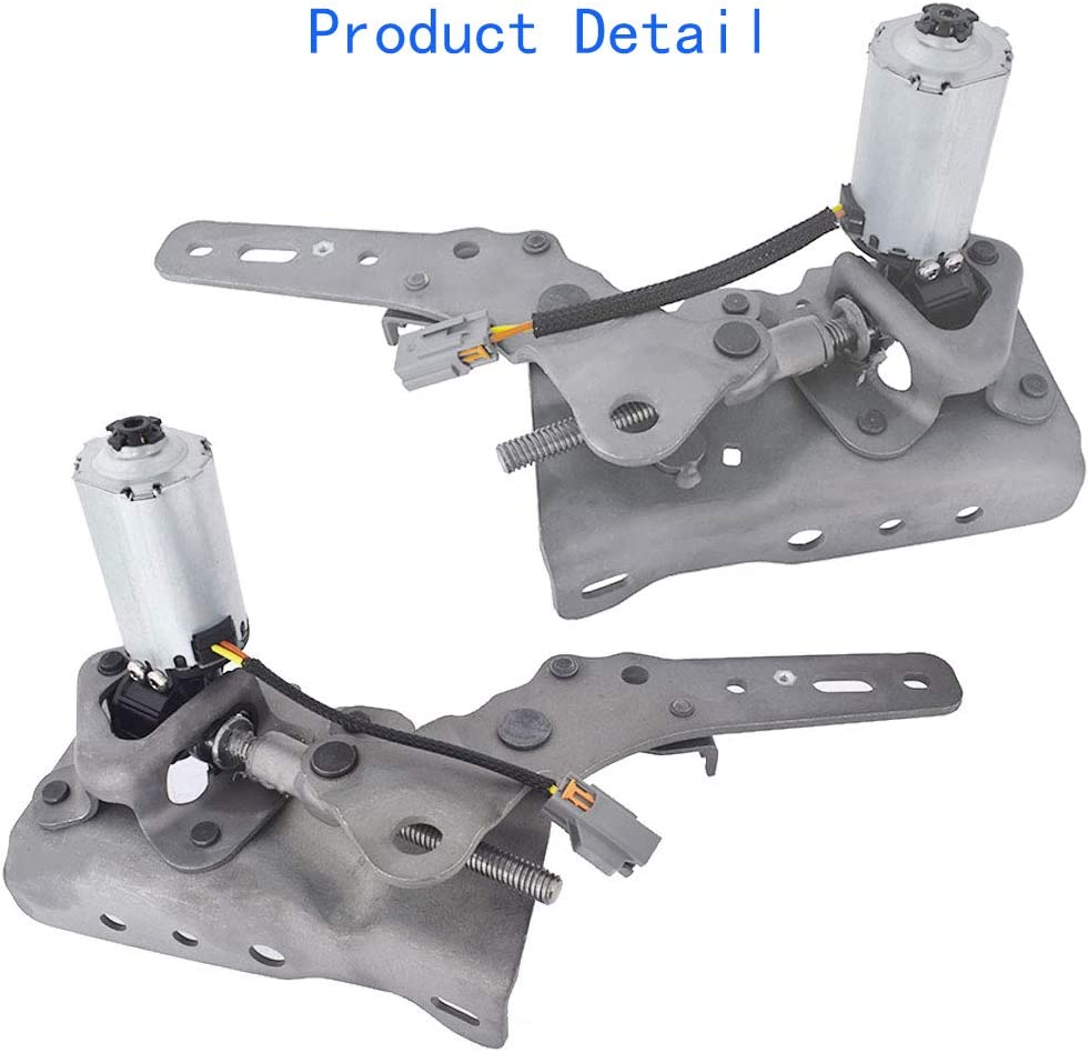 labwork 3rd Row Power Fold Seat Hinge Motor 6L2Z7861382EA 6L2Z7861383AA Replacement for 2006-2010 Ford Explorer and Mercury Mountaineer