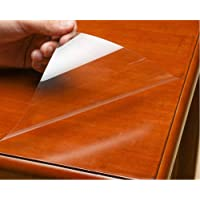 HOHOFILM Clear Protective Film for Wooden Furniture Table Top Coverings Anti Oil Heat Resistant Kitchen Countertop…