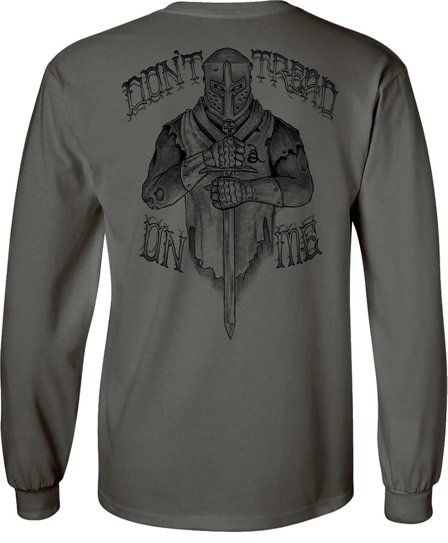 Longsleeve Crusader T-Shirt Charcoal