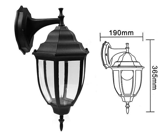 Lanterne Da Giardino A Muro : Vetrineinrete® lanterna da giardino e27 antica lampada a parete