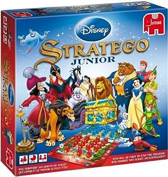 Stratego Junior Niños Estrategia - Juego de Tablero (Estrategia, Niños, 20 min, Niño/niña, 4 año(s), Disney Multi-Property): Amazon.es: Juguetes y juegos