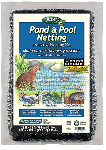 Gardeneer By Dalen Pond & Pool Netting Protective Floating Net 28' x 28' (2 pack)