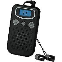 Personal Sound Amplifier - Personal Ear Hearing Aid Device Booster Sound Hearing Amplifier Digital FM Radio, Pocket…