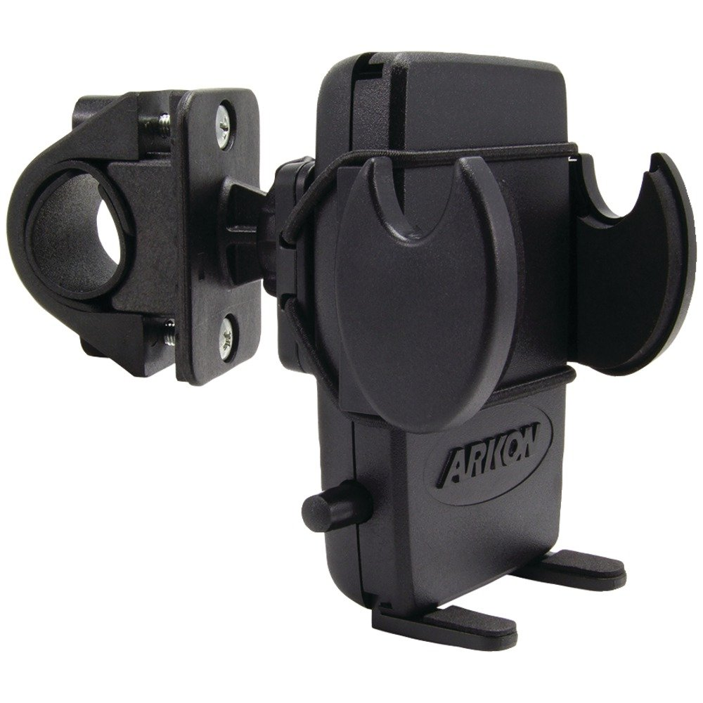 Arkon Bike Handlebar Phone Holder Mount for iPhone X 8 7 6S Plus 8 7 6S Galaxy Note Retail Black
