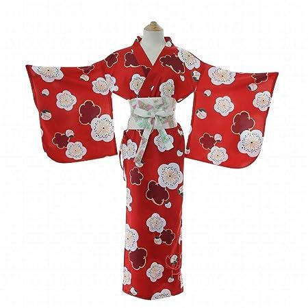 Klerokoh Lencería Sexy Japonesa Profunda V Larga, Traje de Kimono ...