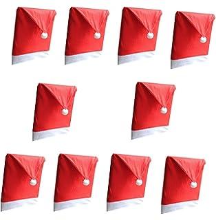 WOSON 12 Pcs Coprisedia Set - 6 x Copri Sedie + 6 Portaposate ... cc55de6c342d