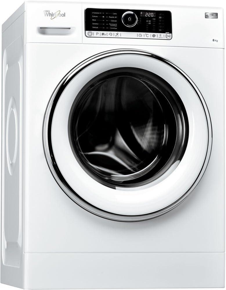 Whirlpool FSCR 80421 Lavadora de 8 kg, 1.400 rpm, A+++, color ...