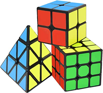 Professional Magic Cube Puzzle Game Toy Rubiks Pyramid for Kids Christmas GIFT