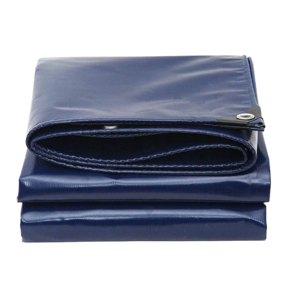 bleu 3x3m GONGFF BÂches Auvent de bÂche idéal pour Le Camping Prougeège-Tapis de Plein air pour la Prougeection de l'eau (Couleur  Bleu, Taille  2x2M)
