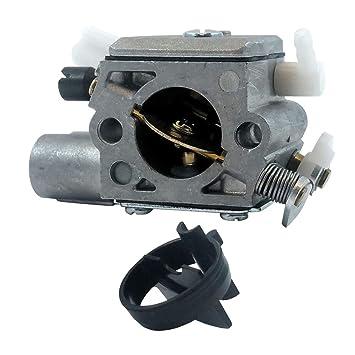 Sharplace Carburador para Stihl Ms251 Repuesto de Motosierra Piezas de Automóvil Cortacésped Jardín: Amazon.es: Jardín