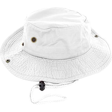 c5f8a9f2e08ad2 DealStock 100% Cotton Boonie Fishing Bucket Men Safari Summer String ...