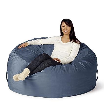 Superbe Take Ten Large 50u201d Luxury Bean Bag Chair U2013 Multiple Colors / Seats 1 To