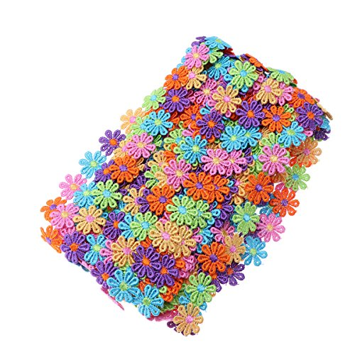 ULTNICE Flower Decorating Lace Trims for DIY Sewing Art Craft 15 Yard by ULTNICE