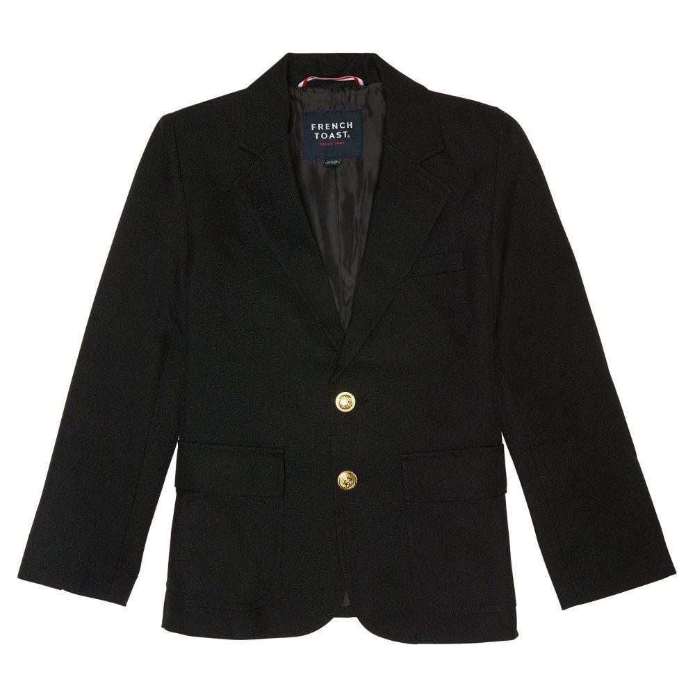 French Toast Little Boys' School Blazer, Black, 6