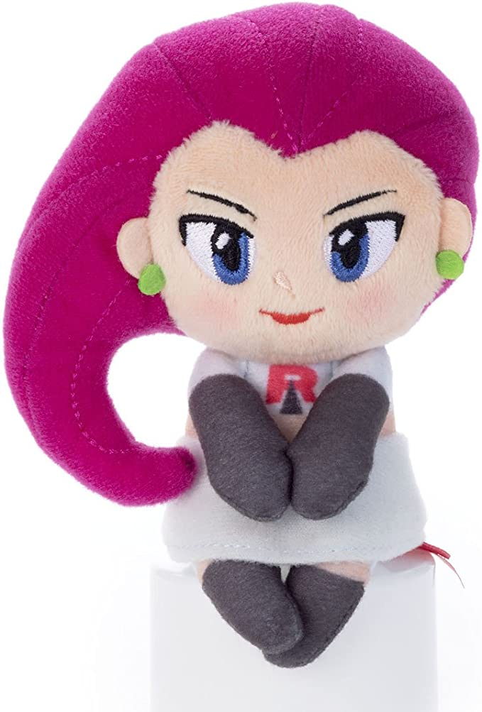 Pokemon Chokkorisan Team Rocket Jessie Mushashi Takara Tomy Plush ...