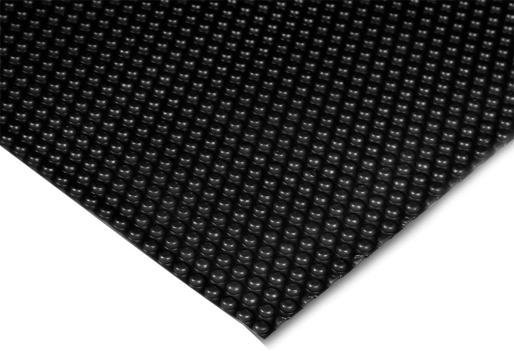 WilTec Cubierta Solar Piscina Negro isotérmica de Burbujas ...