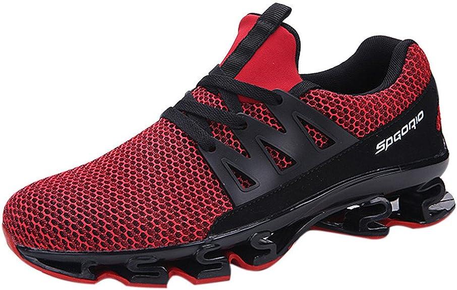 OHQ Zapatillas Deportivos Hombre Sneakers Zapatillas Caminar ...