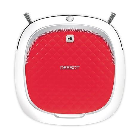 Ecovacs DEEBOT D35 Robot de limpieza de suelos desnudos, rojo por