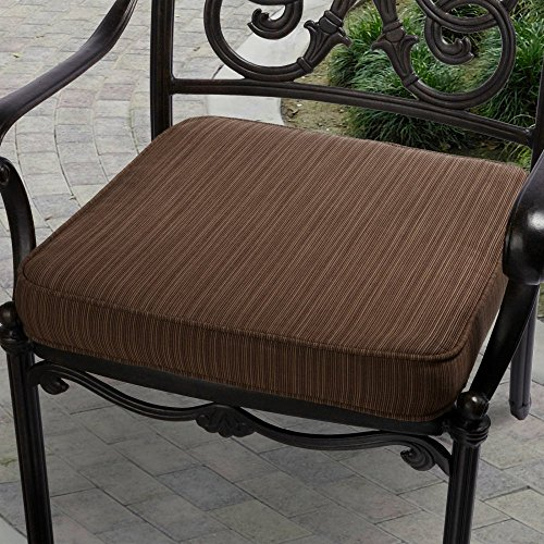 Mozaic Company Sunbrella Corded Indoor Outdoor Chair Cushion