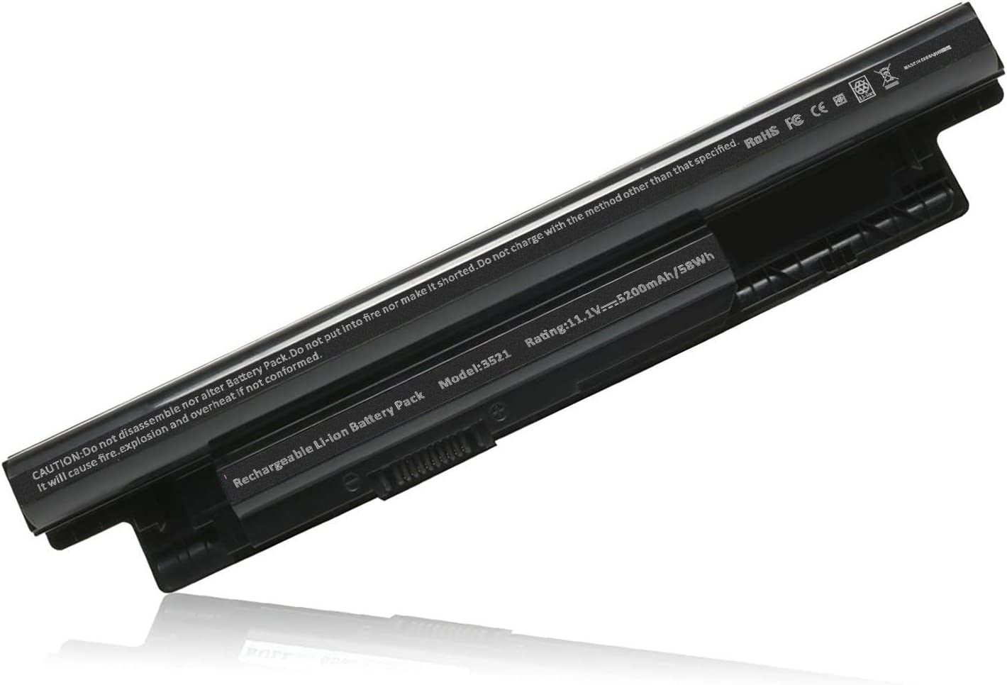 ARyee Laptop Battery for Dell Inspiron 14 3421 14r 5421 14r-3437/5437/ N3421/N5421 15 3521 15r-3537/5537/N3521/N5521/N5537 17 3721 17r-5737/N3721/N3737/N5721/N5737 17r 5721 15r 5521 Model:3521