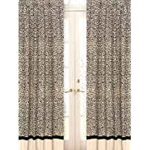 Animal Safari Window Treatment Panels - Set of 2