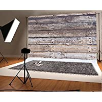10x6.5 ft Retro Wood Wall Photo Backgrounds Wooden Photography Backdrops Wrinkle free Seamless Cotton Cloth