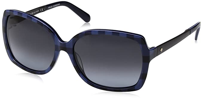 b0455d46db Amazon.com  Kate Spade Women s Darilynn Rectangular Sunglasses BLUE ...