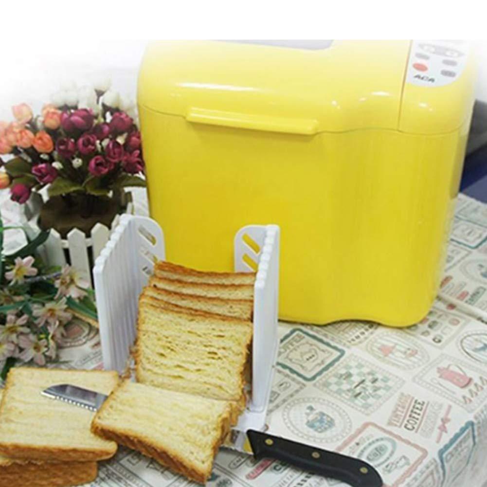 productos cortadora de pan pan pan baguette molde sándwich de máquina de tostadas para el hogar máquina de cortar la plancha de guía de corte NiceButy ...