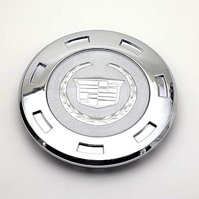 """1pcs, for 1 Cap 2007-2015 Cadillac Escalade 22"""" Wheel Center Cap 9597950…(Silver): Automotive"""