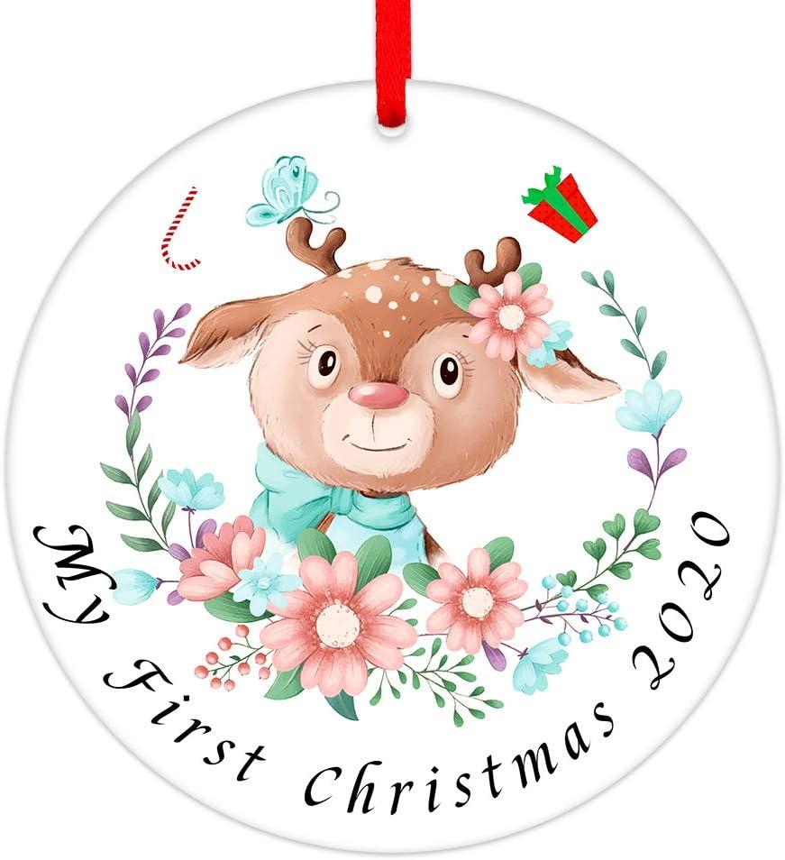 SICOHOME 2020 Christmas Ornaments,3