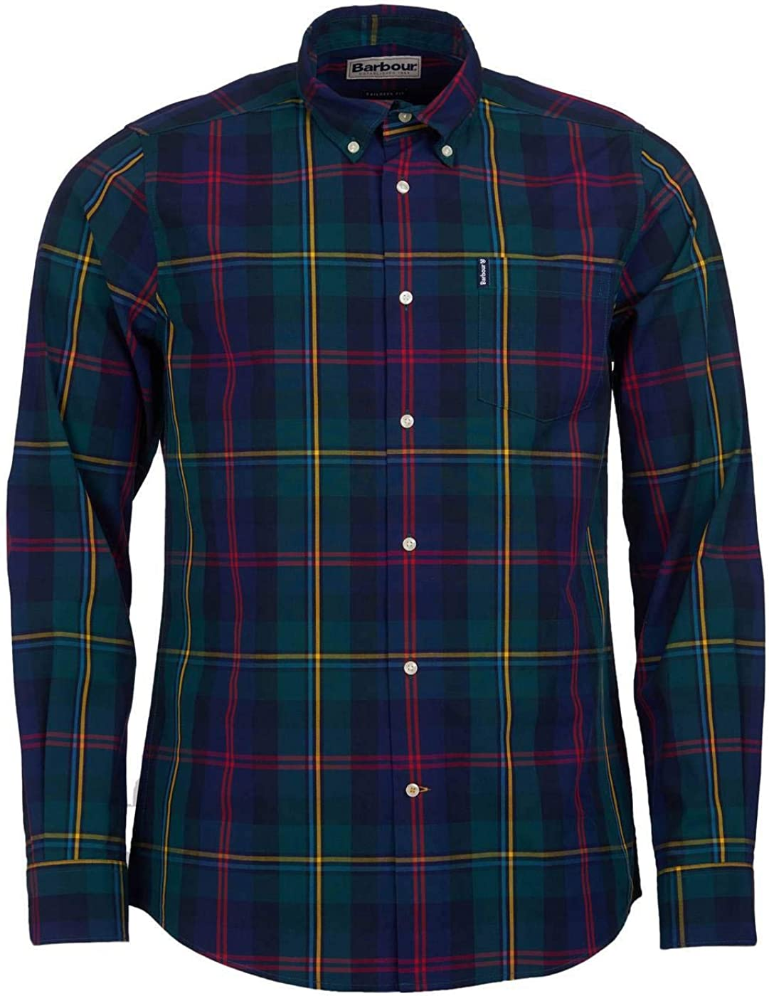 Barbour Highland Check Shirt Green-L: Amazon.es: Ropa y accesorios
