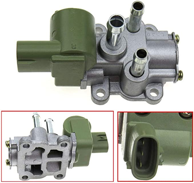 2000-2001 Toyota Corolla Fuel Injection Idle Air Control Valve ZENITHIKE Idle Air Control Valve 22270-0D010 for 1998-2002 Chevrolet Prizm