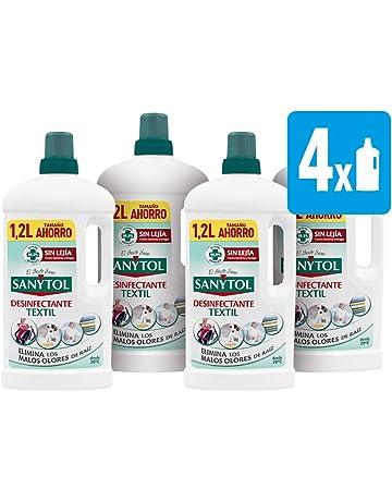 Sanytol - Desinfectante para Ropa sin Lejía, Formato Ahorro - [Pack de 4 x1200ml