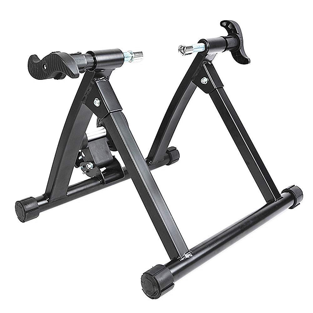 自転車エクササイズスタンド, 自転車トレーナースタンドノイズリダクション屋内乗馬   B07GH1JQRB