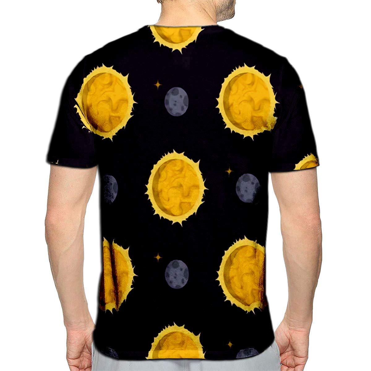 3D Printed T-Shirts Solar System Space Planets Galaxy Earth Universe Planet Astr