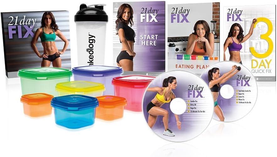Gewichtsverlust Programme mit Behältern