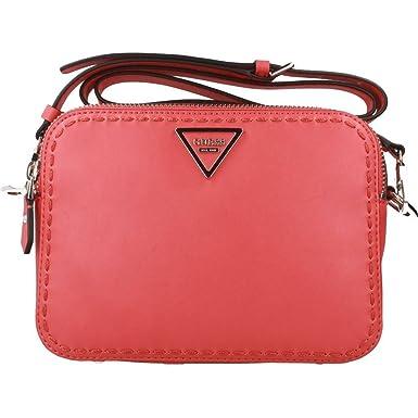 Handtaschen Damen, Color Rot, Marca, Modelo Handtaschen Damen HWVY69 Rot Guess