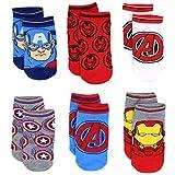 Avengers Boys 6 pack Socks