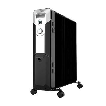 Cecotec Ready Warm 5720 Space - Radiador de Aceite de 11 Módulos, Negro: Amazon.es: Hogar