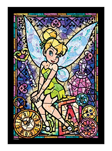 266 piece jigsaw puzzle Stained Art Tinker Bell stained glass (18.2x25.7cm)